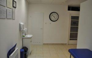 Zdjęcie wnętrza gabinetu masażu leczniczego bulwar ikara wrocław